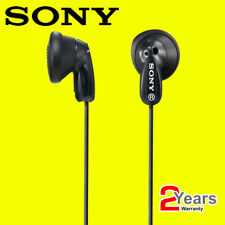 Sony MDRE9 In Ear Stereo Mp3 iPhone iPod Portable Audio 3.5mm Headphones - Black