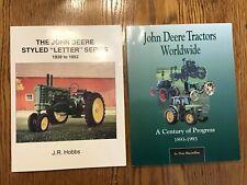 2 John Deere Tractor Books: Letter Series & Tractors Worldwide