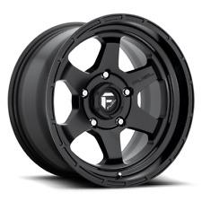 17x9 Fuel D664 Shok 6x135 ET1 Matte Black Wheels (Set of 4)