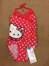 Girls M&S Hello Kitty Swimming Suit 3-4