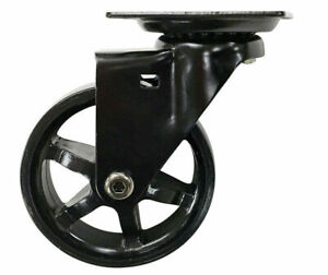 "Shepherd #6275  3"" Designer Wheel Caster 100lb cap per. BASE 2 3/8"" X 2 3/8"""