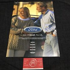 96-99 Ford Taurus Brochure Japanese Catalog 97 98 DN101 Mercury Sable 3G Wagon