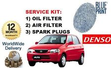 PARA Suzuki Alto 1.0 1997-12/2002 Nuevo Servicio Kit Aceite Juego de FILTRO AIRE