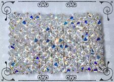 Handcrafted Formal Bridal Bracelet Rose Gold MADE WITH Swarovski Crystal AB