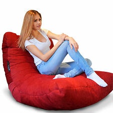 Red Acoustic Sofa Bean Bag - Red BEANBAG comfortable Sofa Excellent Design