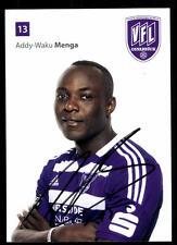 Addy Waku Menga AUTOGRAFO scheda VfL Osnabrück 2014-15 original sign + a 112466