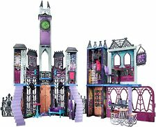 NEW Monster High Doll House Deadluxe High School Creepy Playset Furniture Party