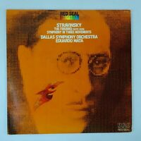 Dallas Symphony Orchestra Stravinsky The Firebird Suite LP 1980 RCA Records