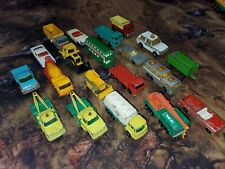 Vintage Lesney Matchbox Lot 20 Pcs Made in England Toy Cars And Trucks Diecast