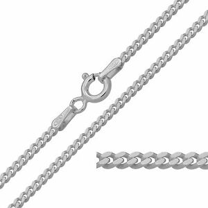 925 Sterling Silver CURB Chain Necklace 2mm NEW