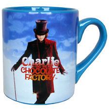 Charlie and the Chocolate Factory Willy Wonk 14 oz Ceramic Mug - Tim Burton