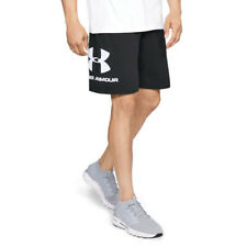 Under Armour Mens Sportstyle Graphic Shorts Pants Trousers Bottoms Black Sports