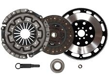 QSC Stage 1 Clutch Kit + Forged Flywheel Fits Nissan 90-96 300ZX 3.0L Non Turbo