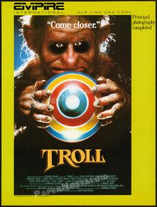 TROLL__Original 1985 Trade AD promo / poster__CHARLES BAND__Julia Louis-Dreyfus
