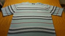 SOUTHPOLE 2XL men's knitted dress shirt Blue AWESOME COLORS BEAUTIFUL