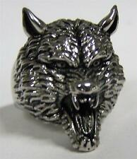 WEREWOLF MONSTER STAINLESS STEEL RING size 10 - S-545 biker  MEN women WOLF new