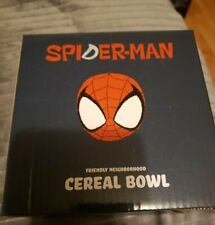 Loot Crate Exclusive Marvel Spider-Man Friendly Neighborhood Cereal Bowl MISB