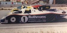 ROTHMANS PORSCHE  Racing 11 X 14 Signed Photo By Jack Webster