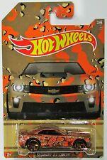 Hot Wheels 2015 Camouflage series (camo) walmart exclusive 12 camaro zl1 #3/6