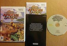 WILD EARTH AFRICAN SAFARI pour Nintendo Wii