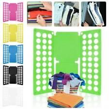 Clothes T-Shirt Folder Adult Magic Folding Flip Board Fast Laundry Organizer New