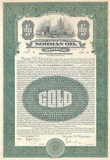 Norman Oil Corporation - $1,000 Gold Bond