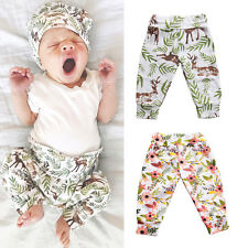 HomeToddler Infant Baby Bottoms Boy Girls Casual Harem Pants Leggings Pants US