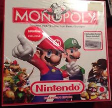 Nintendo Monopoly GameStop Exclusive Collector's Edition Mario, Zelda, NES