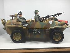 1/6 21ST CENTURY GERMAN SCHWIMMWAGEN JEEP VEHICLE WW2 DRAGON BBI DID