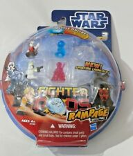 Star Wars Fighter Pods Rampage 2012 Series 3 Pack of 4 Princess Leia Hologram