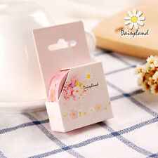 Japan Style Cherry Blossoms Washi Tape Flower Paper Masking Sticker Deco Diary