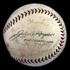 RARE 1931 St. Louis Cardinals World Series Champs Team Signed Baseball JSA COA