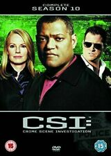 CSI: Las Vegas- Complete Season 10 [DVD][Region 2] TV Show Gift Idea NEW UK