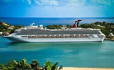 CARNIVAL VALOR CRUISE SHIP POSTER | 24 X 36 INCH | VACATION | SEA