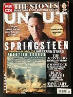 UNCUT MAGAZINE 267 AUG 2019 Bruce Springsteen, Rolling Stones, Raconteurs & CD