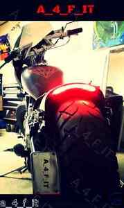BOSS HOSS Chopper Motorcycle LED Light Strip Rear Integrated Brake Turn Signal