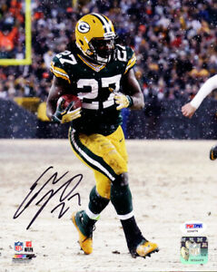 EDDIE LACY AUTOGRAPHED SIGNED 8X10 PHOTO GREEN BAY PACKERS PSA/DNA 82342