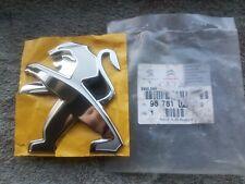 NEW Peugeot Rear Boot Badge