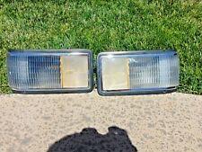 89-93 Cadillac Deville Fleetwood Corner Turn Signal Marker Lights Left & Right