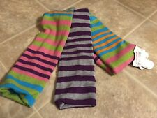 LITTLE MISS MATCHED Striped REVERSIBLE WINTER SCARF Multi Colors