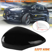 Passenger Left Side Wing Mirror Cover Cap Unpainted For Ford Fiesta MK7 08-2017