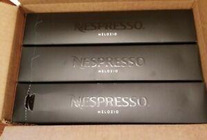 Lot of 3 Nespresso Vertuo Melozio Coffee Pods, 30 Count Exp 12/31/21 NEW IN BOX