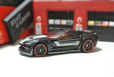 Hot Wheels Loose - Corvette C7 Z06 - Black - 1:64