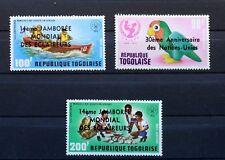 1975 Serie Completo francobolli TOGO SCOUT JAMBOREE E NUOVO MNH 88M909