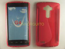 FUNDA GEL TPU ROJA para LG G4 H815 case ESPAÑA