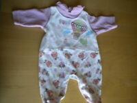 vestito tata tutina bambina bimba disney bianca rosa colorata disegni 1 mese
