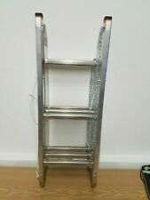 WWLIFT Ladder Type 8 - TRI-KLAPP 115 Three-part 078589 with floor attachment