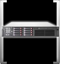 HP COMPAQ PROLIANT DL380 G6 INTEL XEON E5530 QUADCORE 2.40GHZ 6GB DDR3 DVD 4CORE