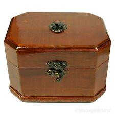 Schmuckschatulle Schmuckkästchen Schmuckkasten Schatulle Holz Truhe Kiste Antik