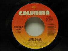 Mico Wave: American Dream / Instant Replay, 45 RPM EX